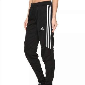 Adidas Tiro Track Pants, White on Black, Sz XS